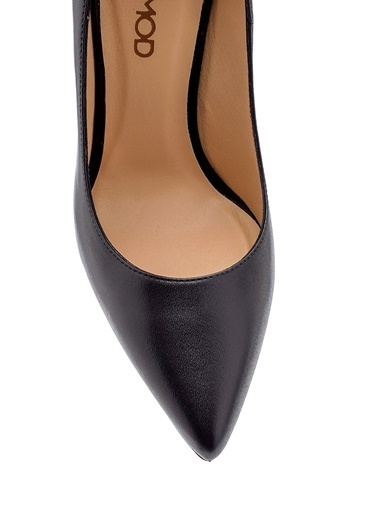 Derimod Kadın Stiletto (19110) Klasik Siyah